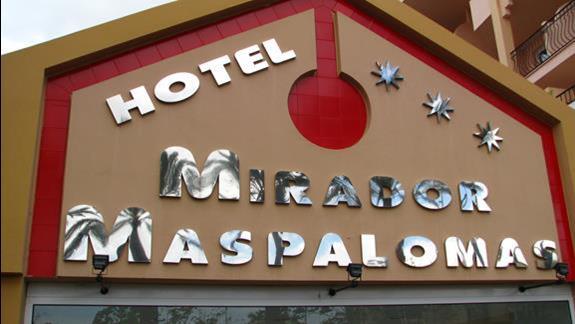 Wejście do hotelu Dunas Mirador Maspalomas