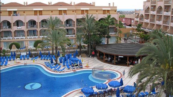 Teren hotelu Dunas Mirador Maspalomas