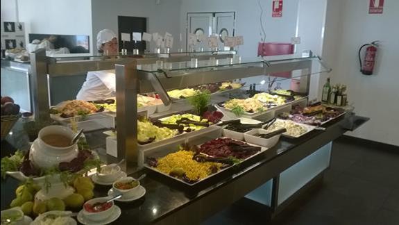 Bufet w hotelu Taurito Princess