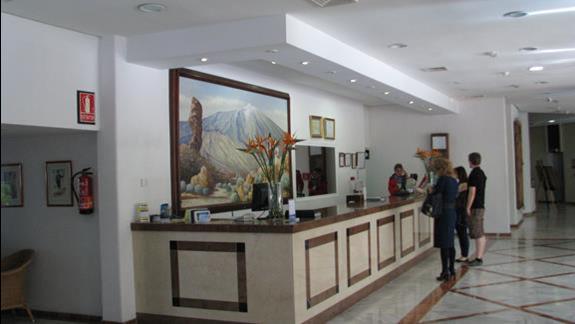 Recepcja w hotelu Puerto De La Cruz