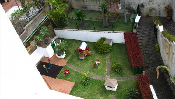 Kącik dla dzieci w hotelu Puerto De La Cruz