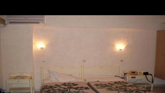 pokój mieszkalny w budynku hotelowym