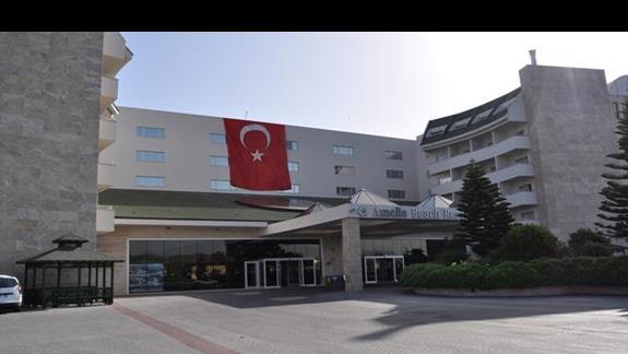 Wejście główne do hotelu