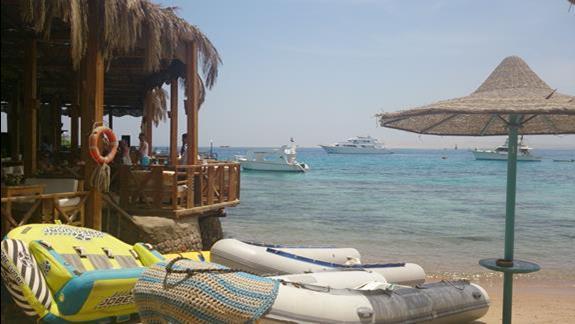 plaża z barem