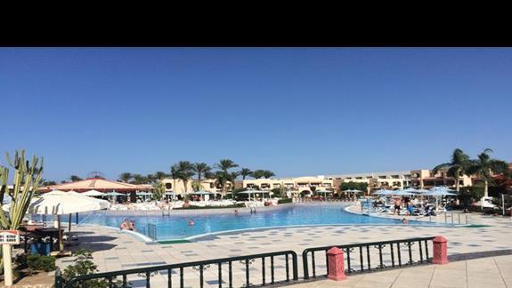 teren hotelu Ali Baba Palace