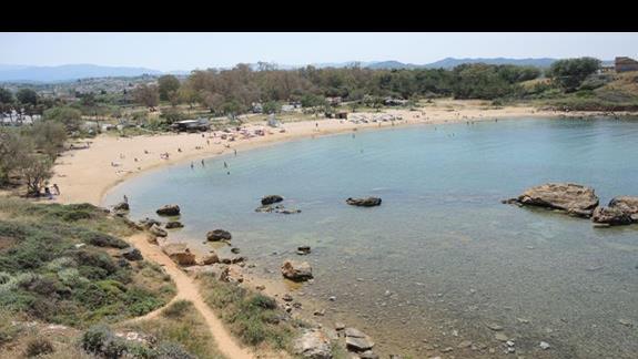 Plaża 3 (dalej od hotelu)