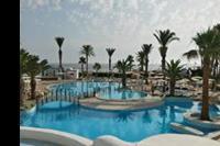Hotel El Mouradi Skanes - Widok z baru hotelowego. 1p. (godz. 6:30).