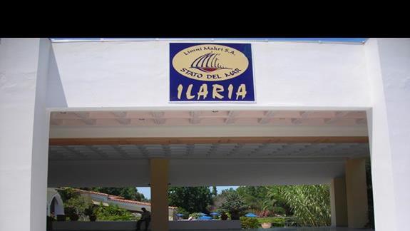 basen widok z balkonu