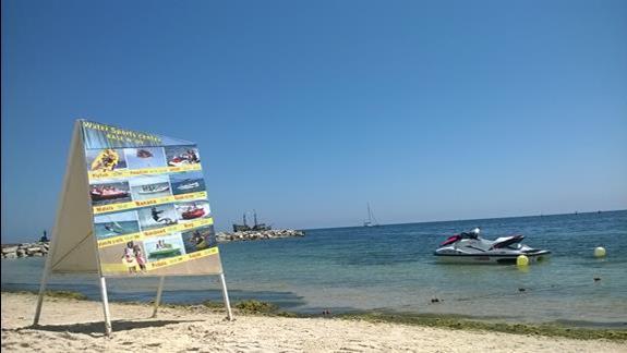 dostepne sporty wodne na plazy