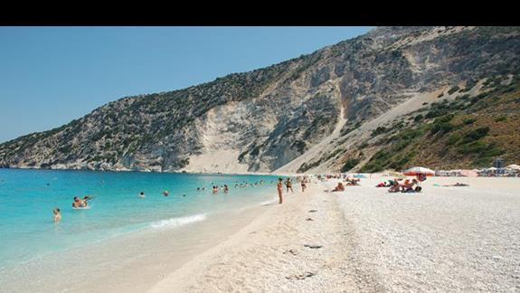 Plaża Myrtos - takiej wody nie widziałem nigdzie!!! bajecznie!!!