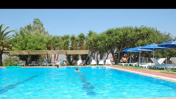 hotel Palatino basen