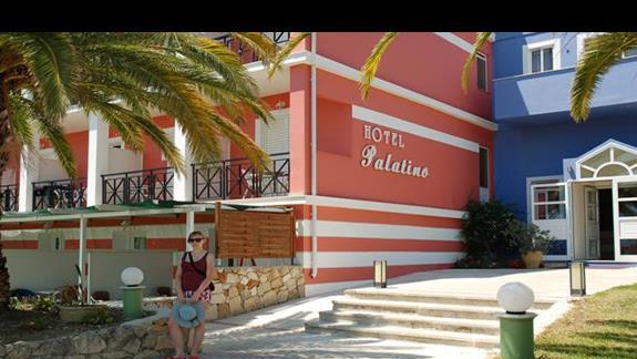 Hotel Palatino - front