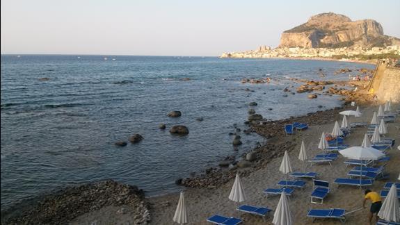 Plaża przyhotelowa