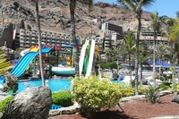 Playa de Taurito - aquapark (platny)