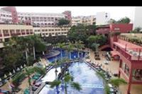 Hotel Best Jacaranda - widok na basen główny z górnego tarasu
