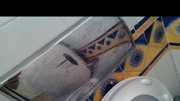 Toaleta w 4gwiazdkowym hotelu