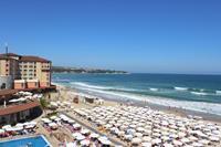 Hotel Sol Luna Bay - widok z pokoju/plaza
