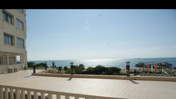 Widok z balkonu pokoju standardowego