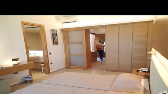 Pokój rodzinny w bungalowie w hotelu Caravia Beach