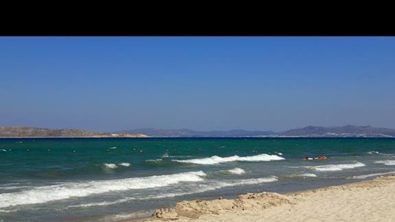 Plaża w hotelu Caravia Beach