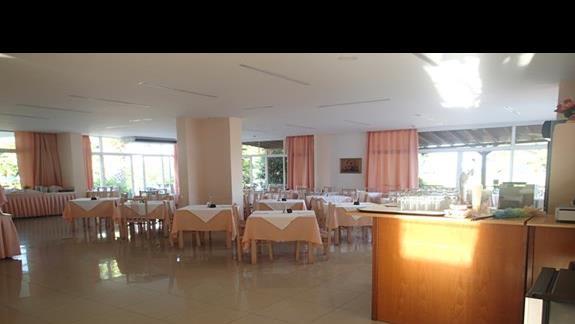 Restauracja w hotelu Palm Beach