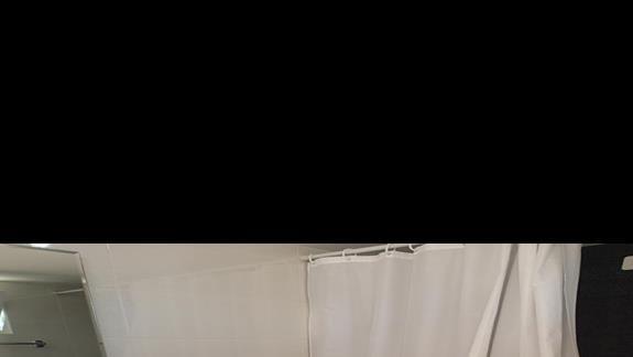 Łazienka w hotelu Palm Beach
