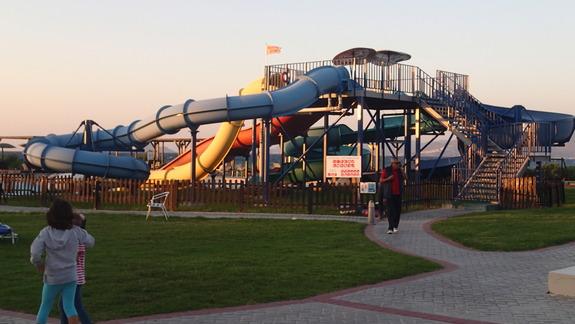 Aquapark w hotelu Marine Aquapark Resort