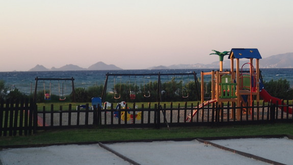 Plac zabaw w hotelu Marine Aquapark Resort