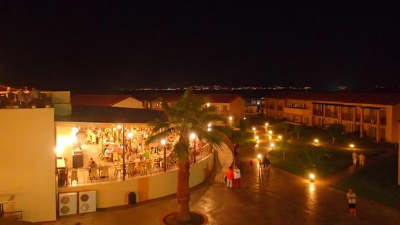 Widok z tarasu w hotelu Marine Aquapark Resort