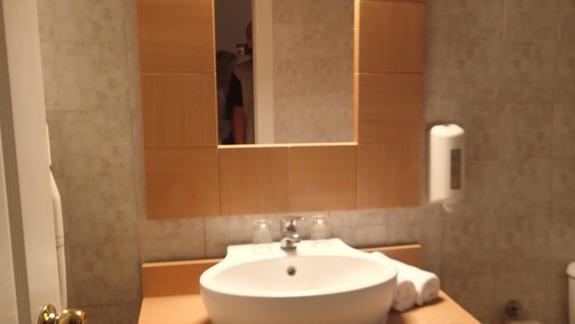 Łazienka w hotelu Marine Aquapark Resort