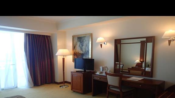 Pokoj standardowy w hotelu Kipriotis Panorama