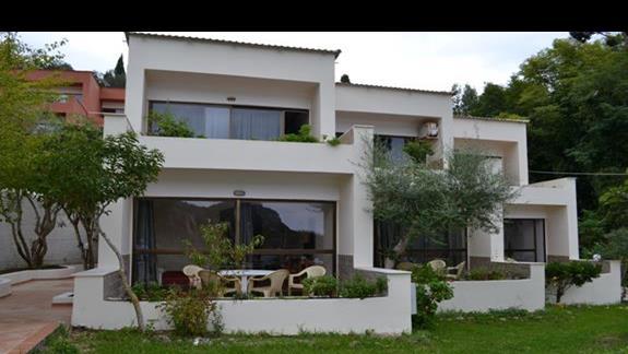 Budynek z pokojami garden view
