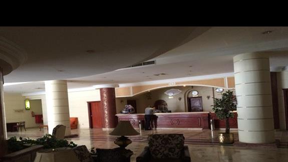 Roma hotel - recepcja i lobby