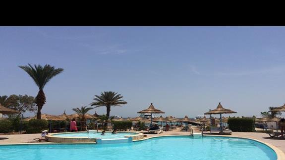 Roma hotel - basen przy plazy