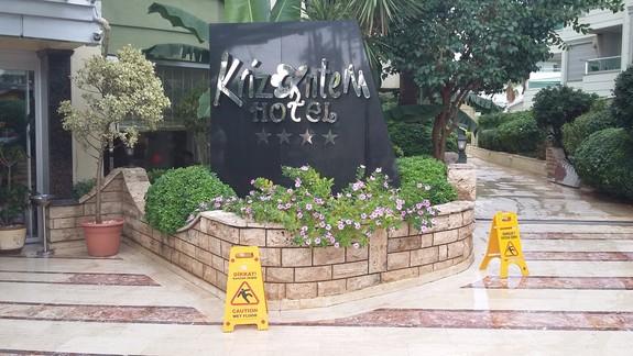Wejście Hotelu Krizantem