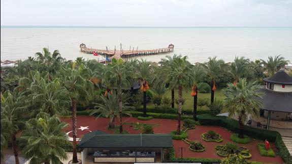 Molo Hotelu Lyra Resort