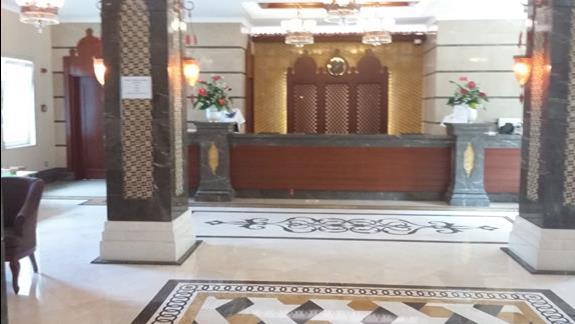 Recepcja Hotelu Gural Premier