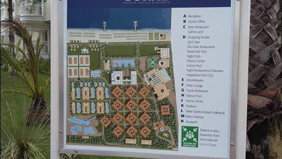 Plan Hotelu Gural Premier