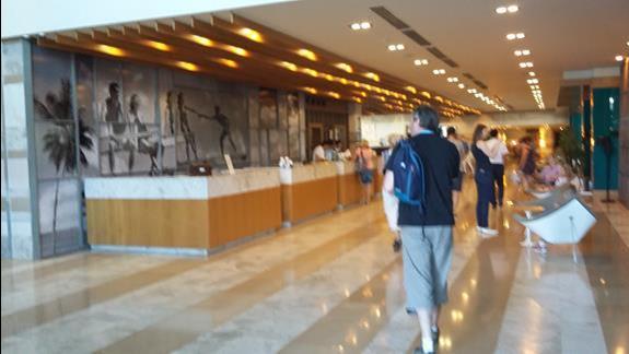 Recepcja Hotelu Sherwood Dreams Resort