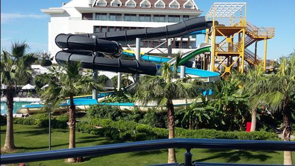 Zjeżdżalnie  Hotelu Sherwood Dreams Resort