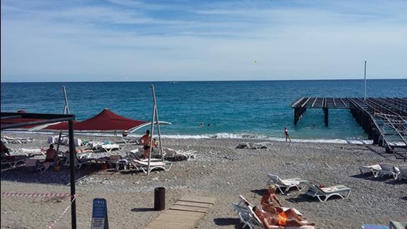 Plaża  Hotelu Limak Limra