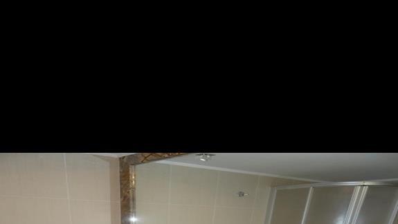 Łazienka w pokoju hotelu Galaxy