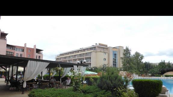 Teren hotelu Izola Paradise