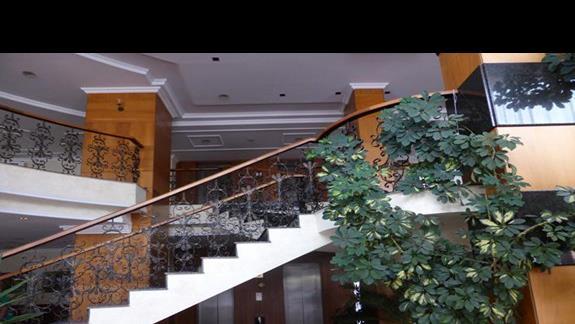Lobby w hotelu Izola Paradise