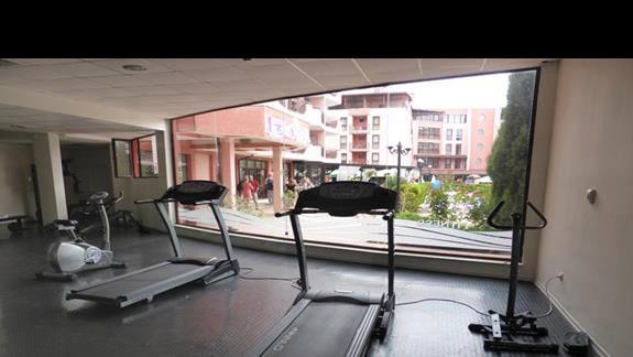 Siłownia w hotelu Izola Paradise