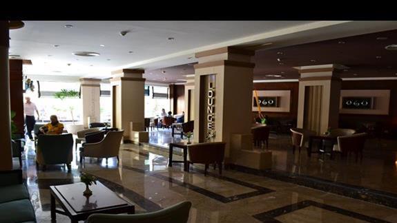 lounge cafe w hotelu Amwaj Blue Beach Resort&Spa