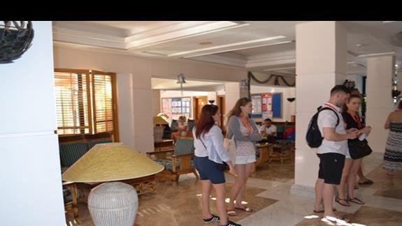 recepcja w hotelu Grand Plaza