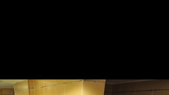łazienka w p.standardowym hotelu Cleopatra Luxury Makadi