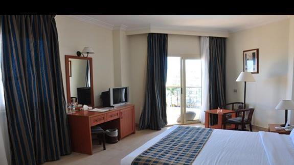 pokój standardowy z wid. na morze w hotelu Festival Le Jardin