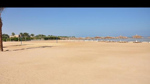 plaża hotelu Jasmine Palace